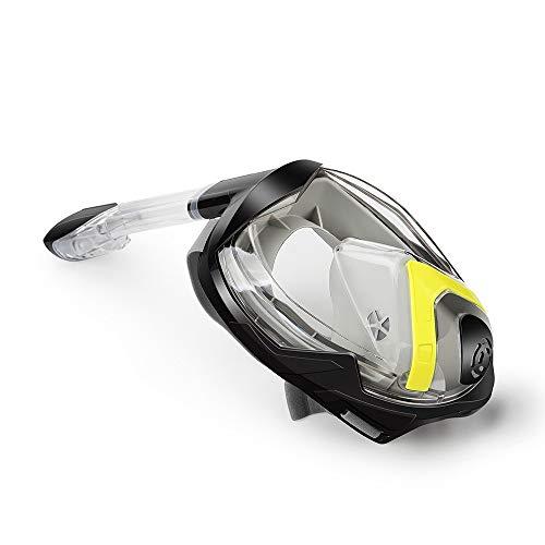 Gafas de natación Cara completa de 180 ° panorámica máscara del salto Conjunto de seguridad de respiración Diseño Anti-niebla ya prueba de fugas Accesorios Deportes Gafas de natación para niños