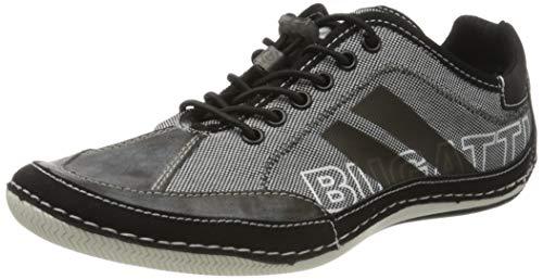 bugatti Herren 321480095000 Sneaker, Schwarz, 41 EU