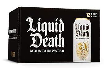 Liquid Death Mountain Water 16.9 oz Tallboys  12-Pack