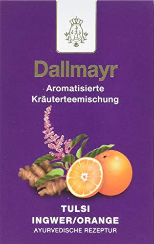 Dallmayr Ayurvedischer Tee Tulsi Ingwer/Orange (1 x 100 g)