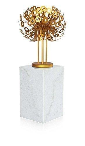 Bianco Marmorizzato Tavolino Galleria Marmo Pilastro per Esposizione di Oggetti d'arte come Sculture,sculture/gioielli. Adatto anche come Colonna fiori,Dekosaeule/Colonna di gioielli. Riproduzione in