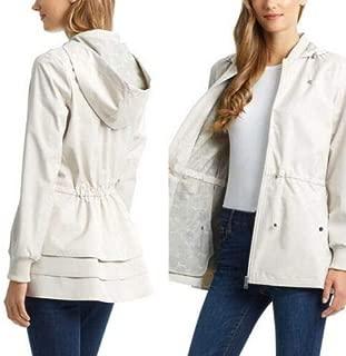 Bernardo Ladies Jacket Back Ruffle Hem