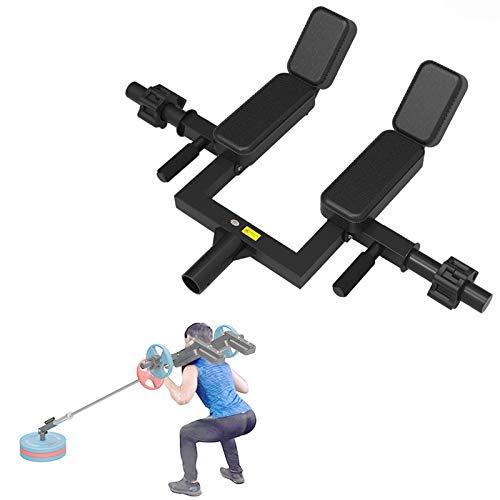 Empuñadura de mina terrestre para prensa de hombros pesada, barra en T con barra, plataforma para remo, accesorio para minas terrestres que se adapta a barras olímpicas de 2 pulgadas, equipo de ejerci