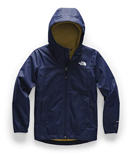 The North Face Boys' Warm Storm Jacket, Montague Blue, L
