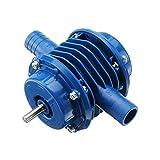 Yongenee Heavy Duty autocebante Mano Taladro eléctrico del Motor de la Bomba de Agua Bomba Micro sumergibles Inicio Jardín Bomba centrífuga Ultra (Color : Blue)