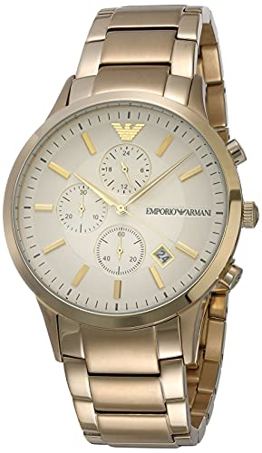 Emporio Armani Reloj cronógrafo de cuarzo para hombre AR11332