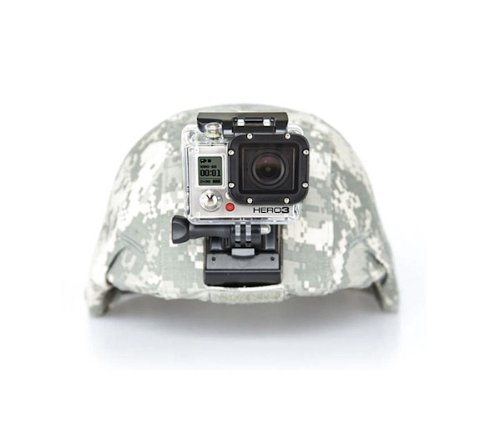 The Accessory Pro Aluminum NVG Mount compatible with all GoPro cameras