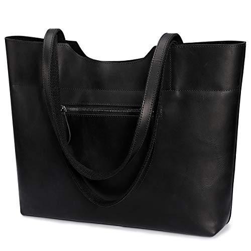 S-ZONE dames vintage echt leer dode tas schoudertas handtas