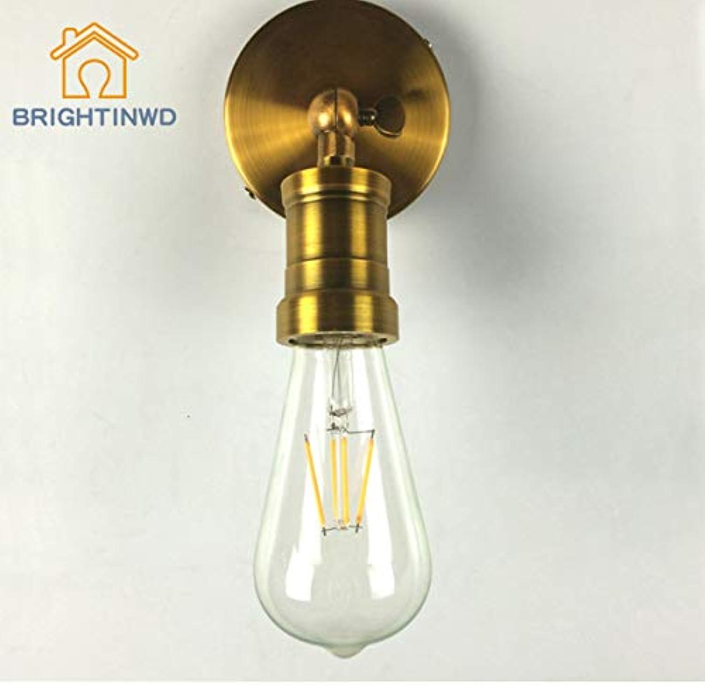HNZZN Led wandleuchte nachttischlampe schlafzimmer wohnzimmer dekorative leuchten antike ganglichter wandleuchten
