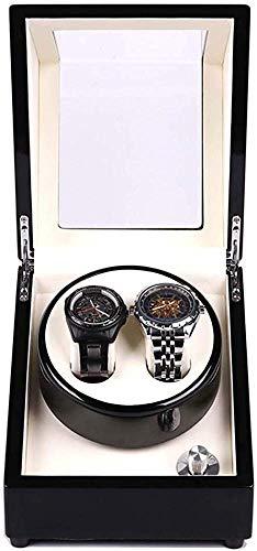 YLLN Automatic Winder Watch, Watch Winder Watches Rotazione Storage 2 + 0 Scatola di immagazzinaggio Automatica Cuscino in Pelle Perfetto da Mettere in Ufficio Camera da Letto