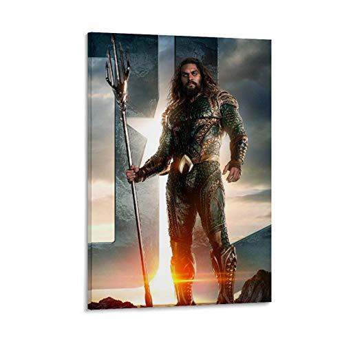 DRAGON VINES Póster de Trident Aquaman Liga de la Justicia (50 x 75 cm)