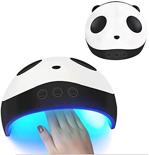 TDMYCS LED UV Lámpara de uñas DIRIGIÓ Lámpara de uñas de Gel Curing rápido de uñas Polaco de Gel con 3 programas de Temporizador Lámpara de Gel Profesional Secador de uñas Adecuado Salón y hogar