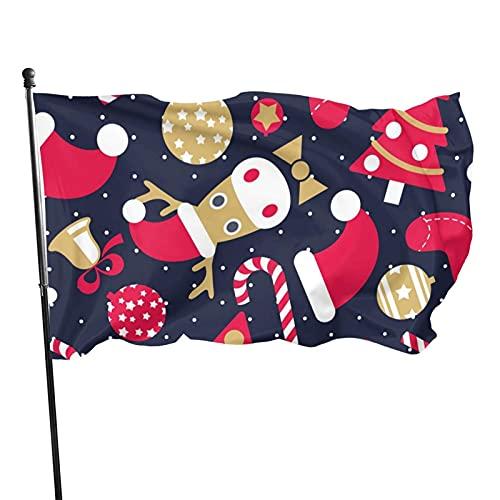 GOSMAO Bandera de Jardín Doble Costura Resistentes a la...
