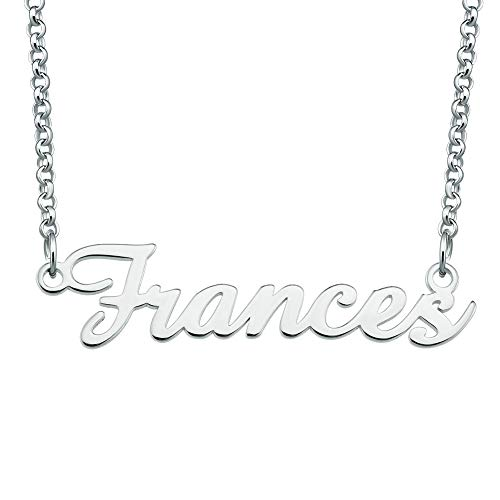 EV.YI Jewels Frances Name Necklace Amber Toddler Sideways Cool Autism Old Cord jcpenney Spade