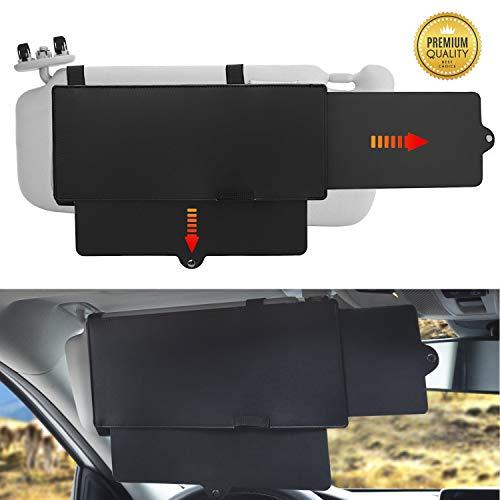 BLACK JACK K K Car Visor Sunshade Extender, Car Sun Blocker Window Sunshade Protects from Sun Glare, Snow Blindness, UV Rays for Cars, SUVs