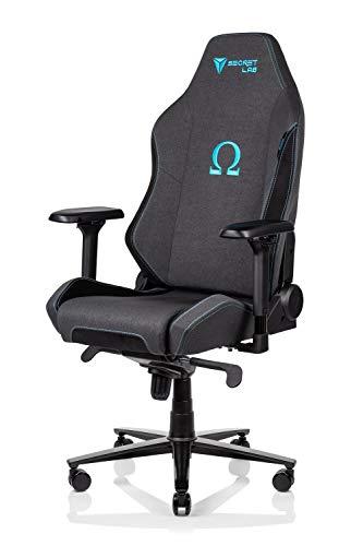 Secretlab Omega 2020 Chaise de Jeu en Tissu Softweave Bleu Anthracite