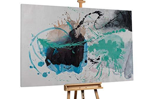 Kunstloft® Extraordinario Cuadro óleo 'Precipitating