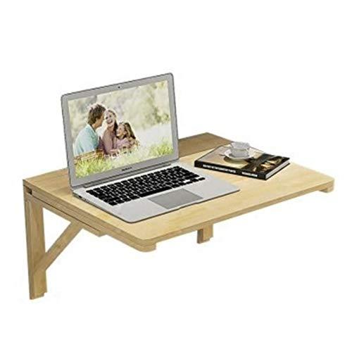 LLFF Mesa Plegable Mesa Plegable de Pared Abatible, para Garaje y Cobertizo/Oficina en Casa/Lavadero/Bar en Casa/Cocina y Comedor, Color Madera (Size : 60X50cm)