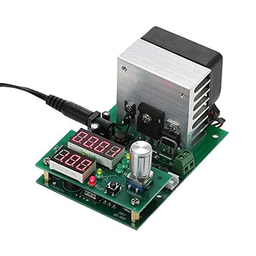 KoelrMsd Probador electrónico de Capacidad de batería 9.99A 60W 30V Probador de Capacidad de Carga electrónica de Descarga de Corriente Constante