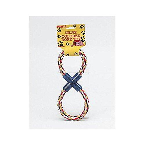 Kole Imports Figure 8 Multi-Colored Rope Dog Toy