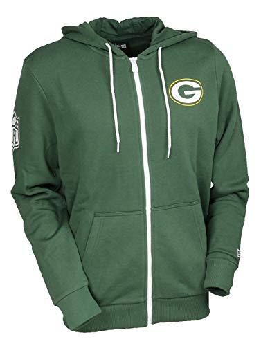 New Era Green bay Packers Full Zip Hoody NFL Large Graphic Green - S