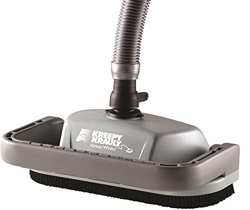 Pentair GW9500 Kreepy Krauly Great White Inground Pool Cleaner,Grey/Black