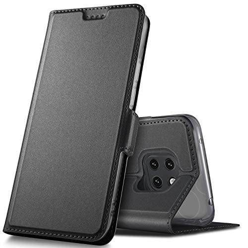 GeeMai Huawei Mate 20 Pro Hülle, Premium Leder Hülle Flip Hülle Tasche Cover Hüllen mit Magnetverschluss Standfunktion Schutzhülle handyhüllen für Huawei Mate20 Pro Dual-SIM Phone