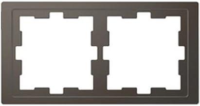 Schneider Electric mtn4020 – 6534 frame 2 elementen uit de serie d-life voor verticaal en horizontaal, antraciet