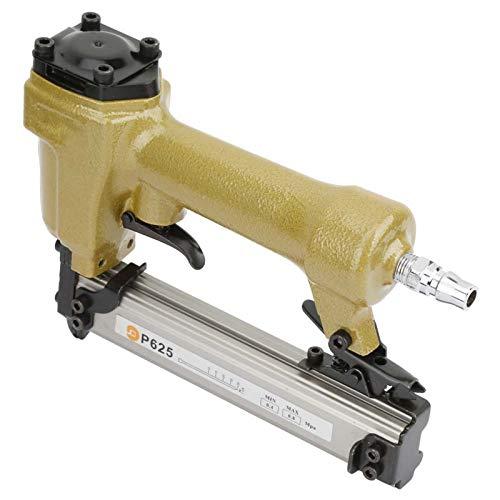Pistola de clavos neumática, remachadora de grapadora de clavos de aire para clavos de grano 100pcs longitud de clavadora de aire 10-25 mm