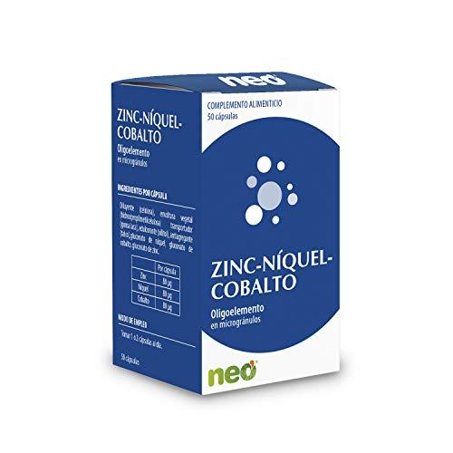 NEO | Zinc + Niquel + Cobalto - 50 Cápsulas | Para Reforzar