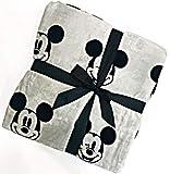 Jay Franco & Sons Disney Mickey Mouse Velvet Soft Plush Full/Queen Blanket 100% Easy Care Polyester