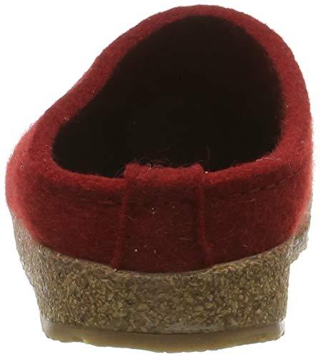 HAFLINGER Women's Grizzly Stelline Wool Felt Indoor/Outdoor Clogs