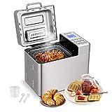 Automatic Bread Machine,BestComfort 15 Programs Bread Maker,15 Hours Delay Timer, 15 Hours Delay Timer, 1 Hour Keep Warm (style 1)