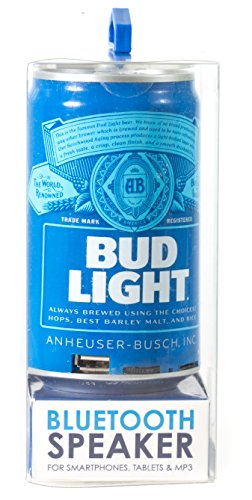 Bud Light Bluetooth Can Speaker- Wireless Audio Sound Stereo Beer Can, Bluetooth Bud Light music player 4