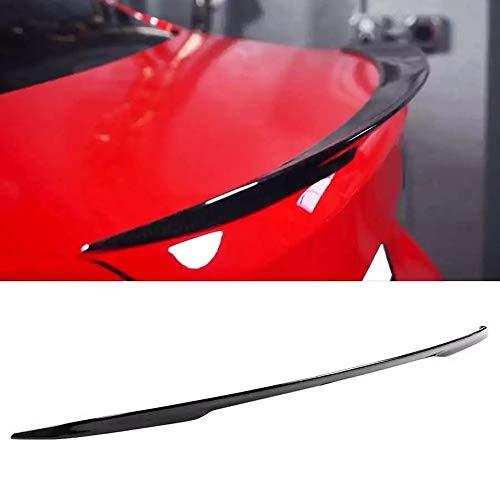 Tapa del Spoiler de la Tapa Trasera, para M PROCEDIMIENTO Glossy Glossy Black Cote Aint FIT para BMW 3 Series F30 / M3 F80 2013-2019 Accesorios para automóviles