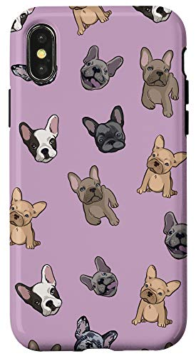 iPhone X/XS Cute French Bulldog Phone Case