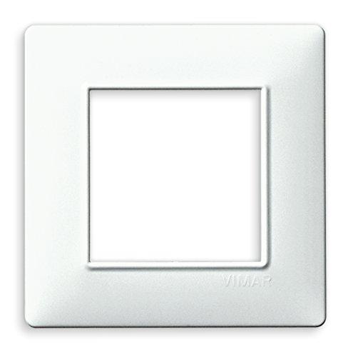 Vimar Placca 2 m, Bianco