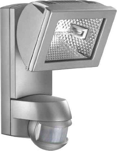 Halogenstrahler Halogenlampe Strahler AF 150W mit Bewegungsmelder in edelstahloptik