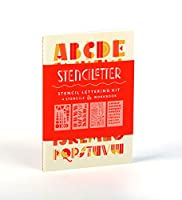 Stenciletter: Stencil Lettering Kit