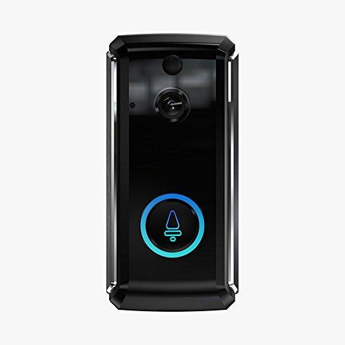 Harwls draadloze optische deurbel, WiFi-intercominstallatie, laag geluid, monitor, draadloos
