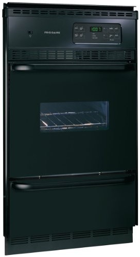 Frigidaire FGB24S5AB 24 Single Gas Wall Oven - Black
