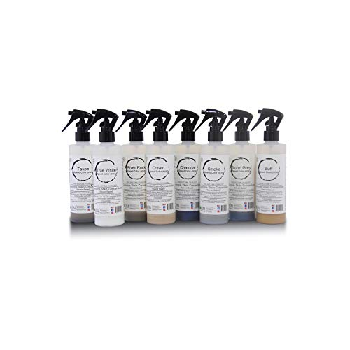 8 Color Sample Pack - Professional Fast Drying Concrete Stain - Easy to use! Speed Color Acetone Dye Concrete Stain 8oz bottles