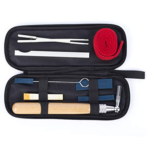 Lowest Prices! Piano Tuning Kit Professional Piano Tuner Kit 9 Pcs Including Tuning Wrench Hammer, T...