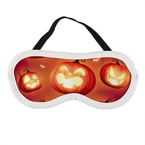 Augenmaske Kürbisse von Halloween Augenmaske für schlafende Kürbisse von Halloween Schlafmaske Geschenk für Ihn Schlafmaske
