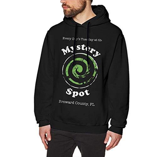 XCNGG Mystery Spot Casual Fashion Keine Taschen Herren Hoodie Sweatshirt