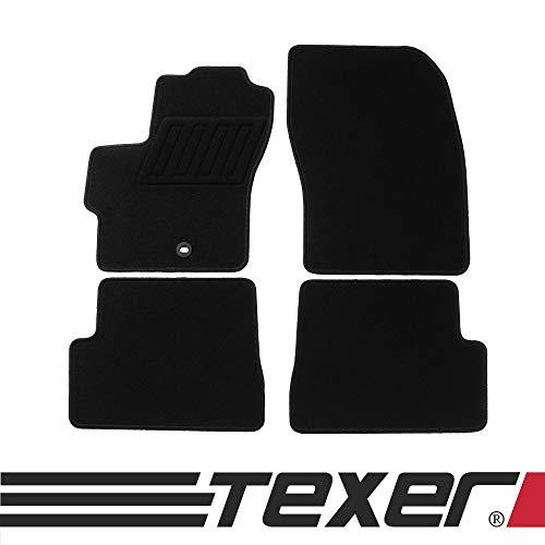 CARMAT TEXER Textil Fußmatten Passend für Mazda 3 I BK Bj. 2003-2009 Basic