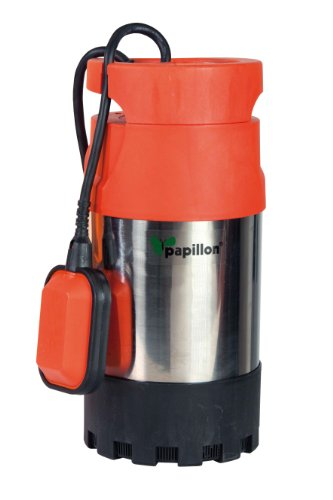 Papillon 94737 somm Bream Pompe, multigirante, 800 W, gris/rouge