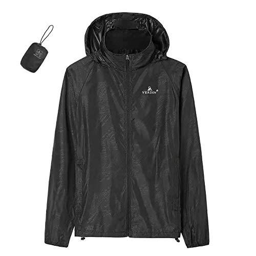 Générique Combinaison de Protection Solaire Ultra Fine Respirante pour Le Camping, Noir, Taille L