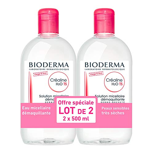 Bioderma Crealine TS H2O Micelle Solution 2 x 500ml