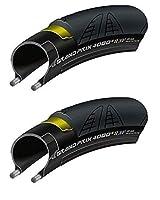 [国内正規代理店品] Continental(コンチネンタル) Grand Prix 4000SII(グランプリ 4000S2) ロード用クリンチャータイヤ 2本セット (700×23)